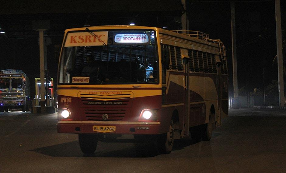 trivandrum-vadanappally-ksrtc-bus